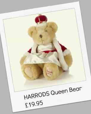 HARRODS Queen Bear £19.95