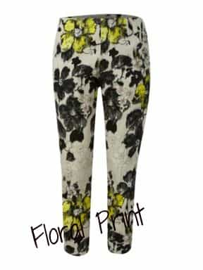 Mary Portas Mono flower print trouser £120