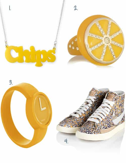 SHOP YELLOW ACCESSORIES