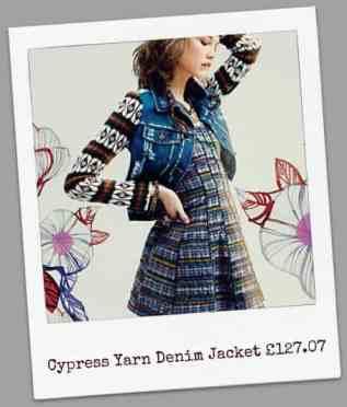 Cypress Yarn Denim Jacket