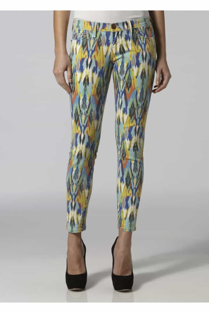 Current/Elliott Stiletto Skinny jean - Multi Arrow  £165.00 £85.00