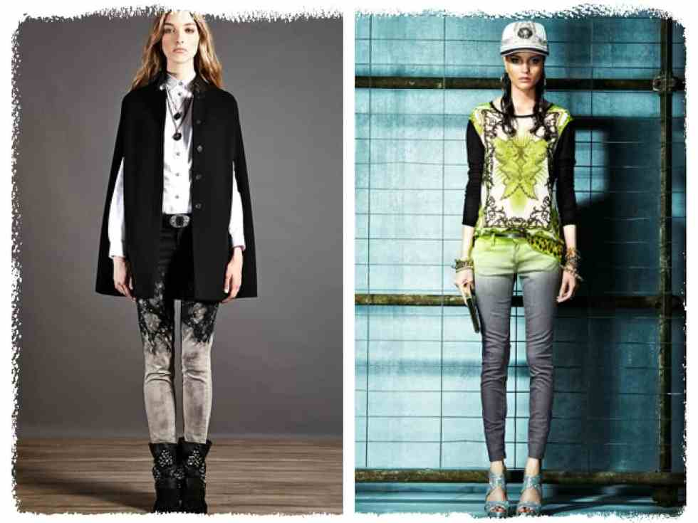 Left: Just Cavalli Pre Winter 12/ Right:Just Cavalli Pre Spring Summer 13