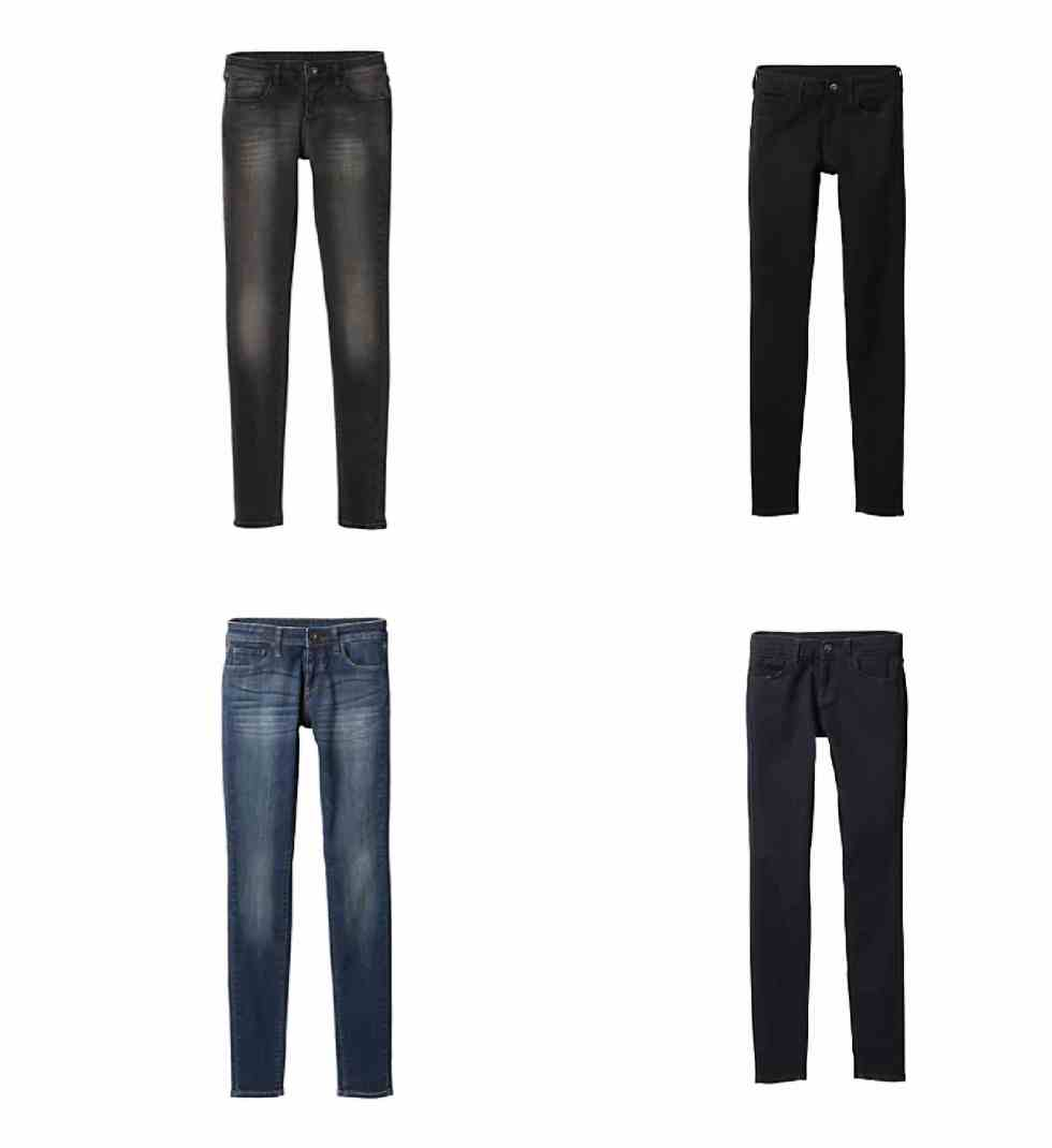 SHOP UNIQLO ULTRA STRETCH DENIM
