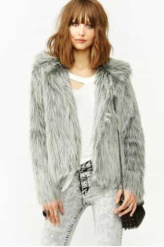 Glam Faux Fur Coat £116.18
