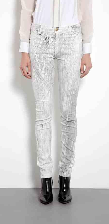 Faith Connexion Crackle Skinny Jeans £200.00