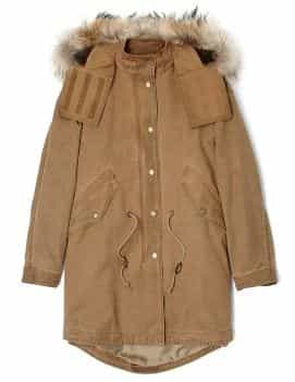Burberry Brit Fur Trim Warmer Parka