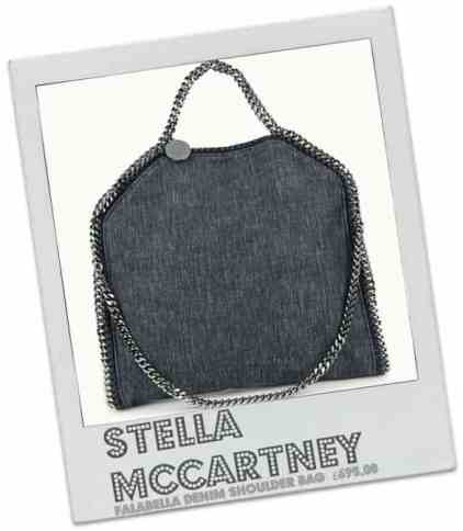 STELLA MCCARTNEY Falabella denim shoulder bag      £695.00