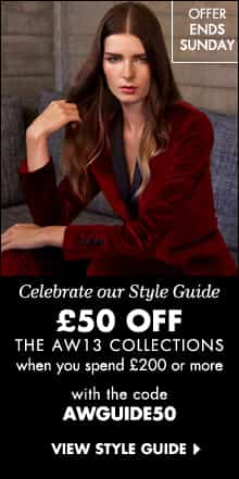 Get £50 Off AW13 Collections