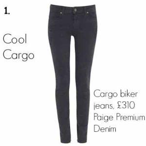 Cargo biker jeans, £310 Paige Premium Denim
