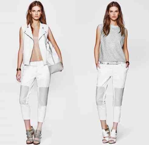 denim trend, white