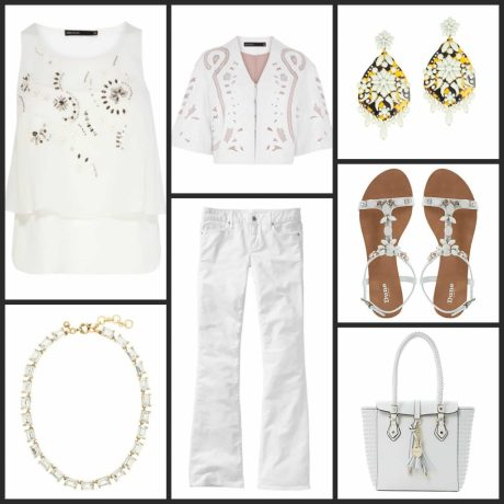 Fuller Figure, White Out Trend