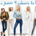 1 BUTTON FRONT JEAN X 9 COLOURS TO LOVE AT FREE PEOPLE