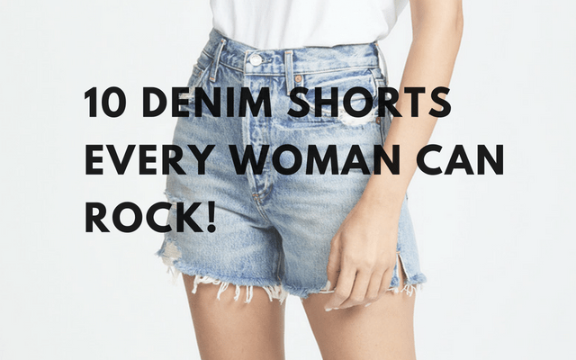 10 denim shorts