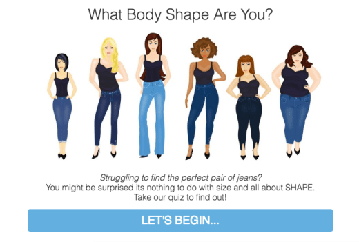body shape quiz