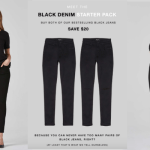YOU'LL WANT THESE BEST-SELLING DSTLD BLACK JEANS .