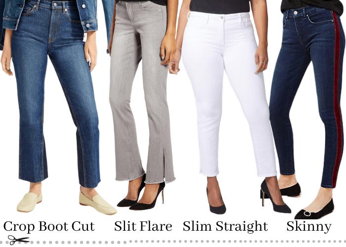 petite curvy jean styles
