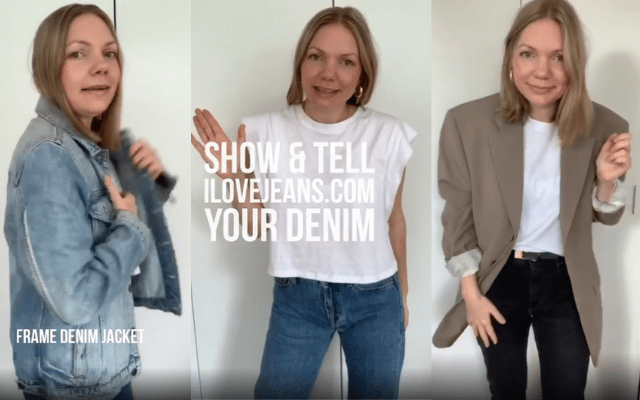 show & tell your denim