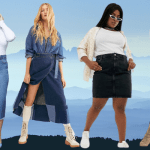 SUMMER OF THE DENIM SKIRT