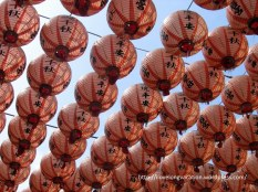 Love the lanterns at Cijin Temple!