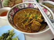 Curry Chicken Noodle Chiangmai