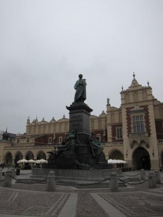 Polish Poet - Adam Mickiewicz Monument