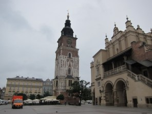 No Town Hall in Krakow. Only a Town Hall Tower.