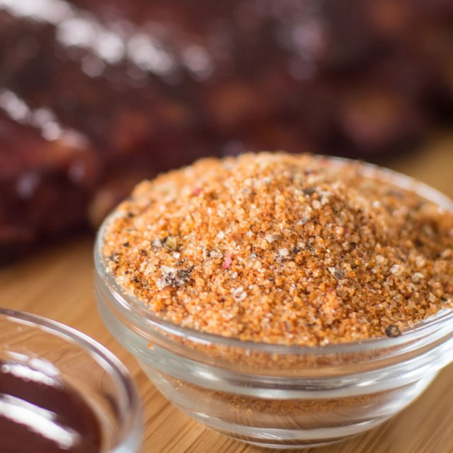 small bowl of bbq spice