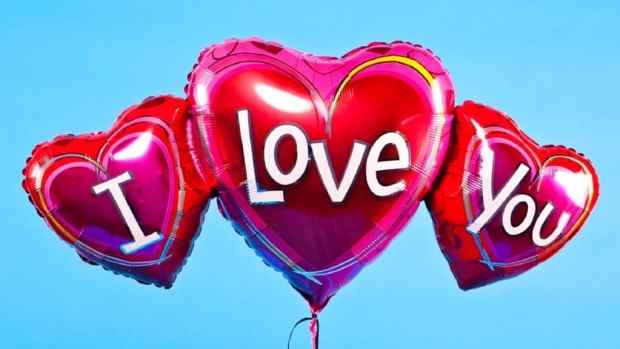I love you Images on Balloons