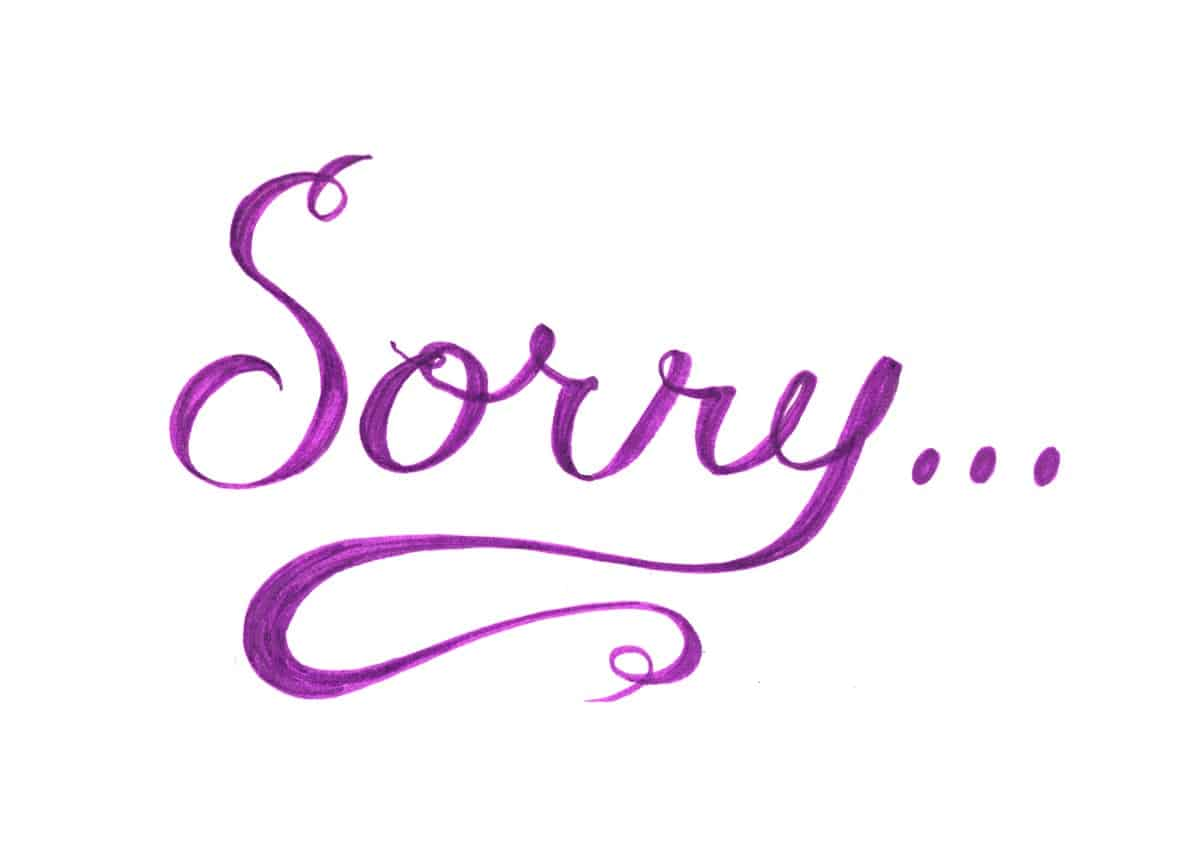 Cute Apology Messages to a Lover with Sorry Images - iLove ...