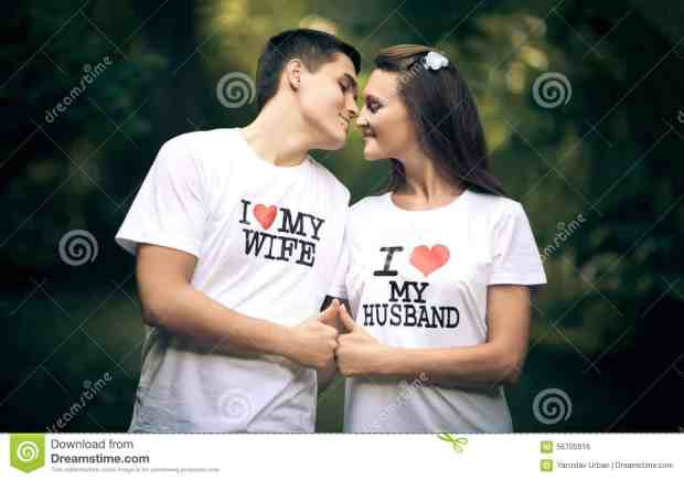 Married couple wiht words i love my wife young husband t shirt husband 56705916