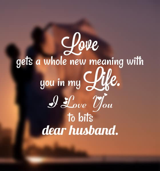 Love Quotes For A Husband Beauteous Romantic Love Messages For My Husband With Images  Ilove Messages