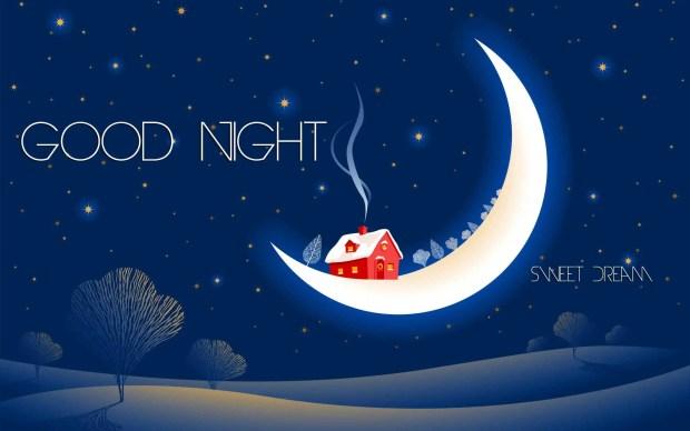 Good night sweet dream hd wallpaper - sweet good night quotes