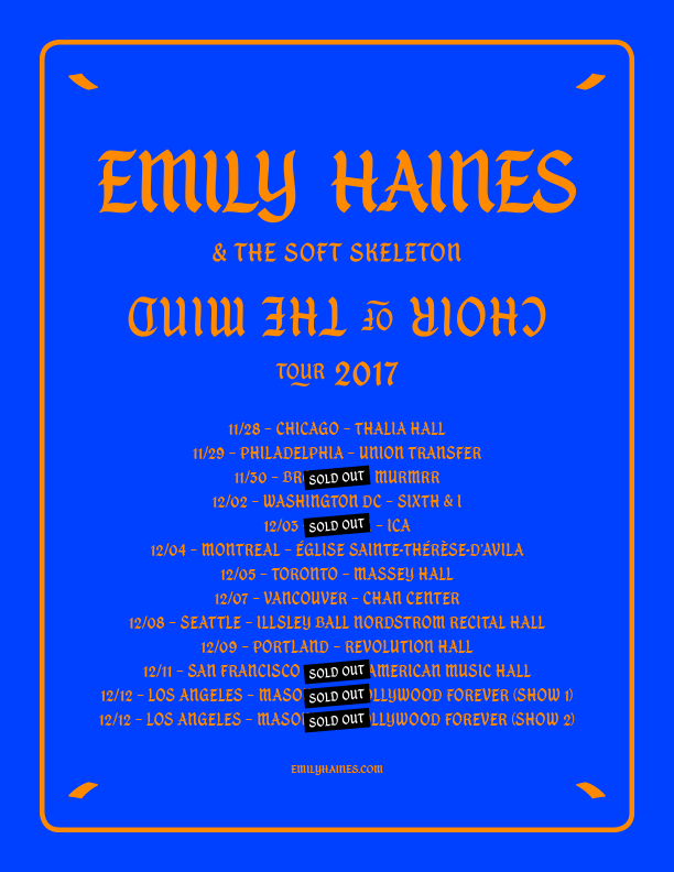 Legend of the Wild Horse Emily Haines and the Soft Skeleton