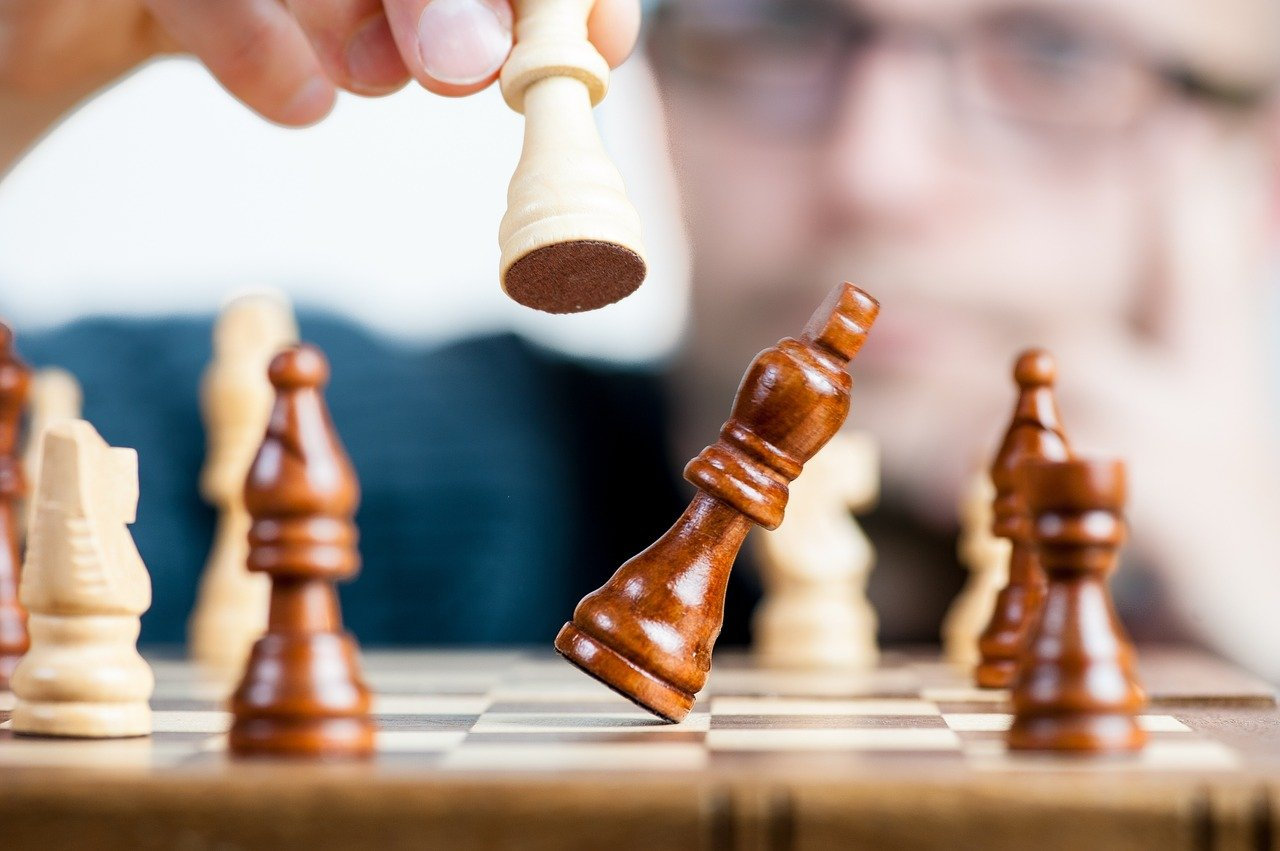 the strategy, win, champion