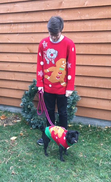 Funky Tails Ugly Christmas Sweaters for Dogs and Humans Review