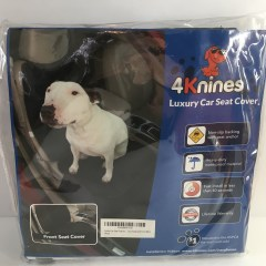 4Knines Luxury Car Seat Cover for Pet Parents