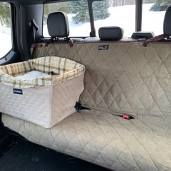 PetSafe Delux Bench Seat Cover Giveaway!