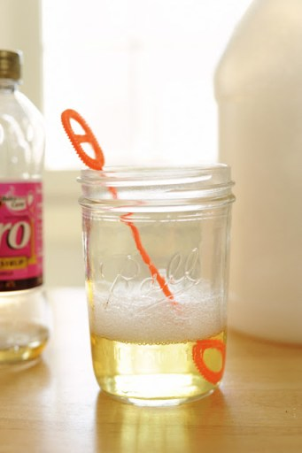 how to make home made bubbles