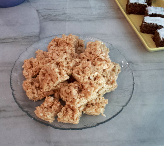 marshmallow recipe rice krispies at home