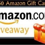 $50 Amazon Gift Card Flash Giveaway
