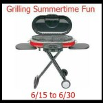 Coleman Grill giveaway, ends June 30