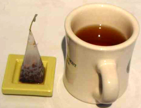 3-4 cups of tea with each tea bag