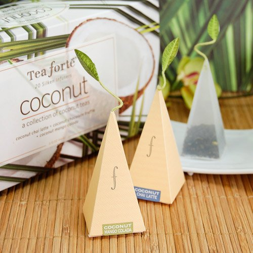 Coconut Tea Sachet Collection Assortment