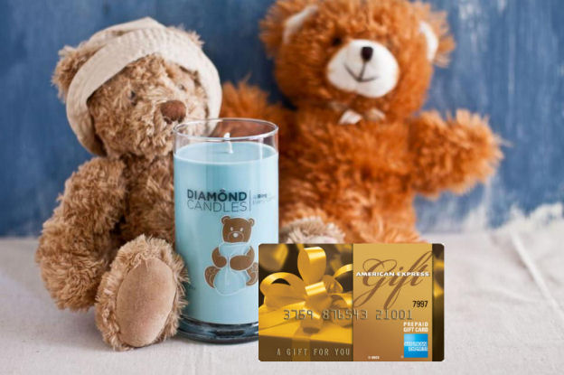 Diamond candle plus 25 american express gift card giveaway
