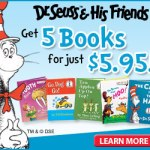 Dr. Seuss – 5 Books For $5.95 + Free Backpack