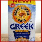 New Yummy Honey Bunches of Oats Greek Honey Crunch Cereal