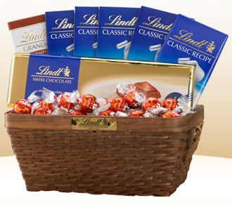free lindt chocolate gift basket