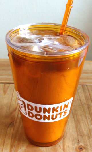 donkin donuts iced coffee recipe