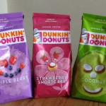 dunkin donus new flavors Coconut, strawberry shortcake and triple berry