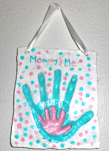 mommy & me plaque blog